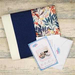 Fabulously Fast Fat Quarter Fun Issue 4 Sew Outdoors - Blue Polka Dot