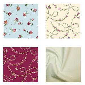 Michael Miller's Victoria's Garden Rose Chain FQ Pack (4pcs)