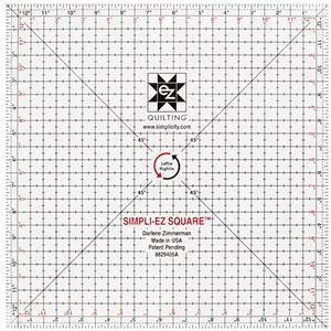 EZ Quilting Leftie-Rightie Square 31.75cm (12.5