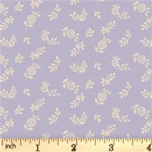 Liberty English Garden Collection Purple English Berry Fabric 0.5m