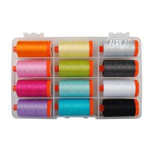 Aurifil Great British Quilter Collection 50 wt (12 x 1300m)