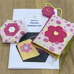 Allison Maryon's Pink Buttons Travel Sewing Kit