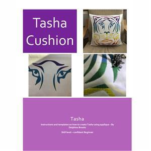 Delphine Brooks' applique Tiger Cushion Instructions