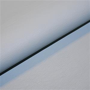 Sky Blue 50% Viscose 50% PU Leathercloth Fabric 0.5m