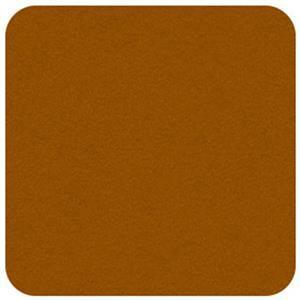 Felt Square in Amber 22.8x22.8cm (9x9