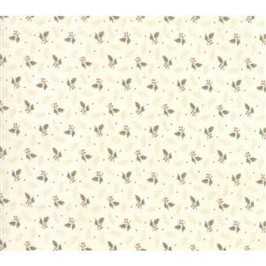 Moda Daybreak Falling Leaves Dawn on Cream Fabric 0.5m