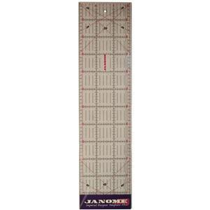 Janome Metric Quilters Ruler 60cm