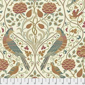 William Morris Orkney Seasons by May Linen Fabric 0.5m