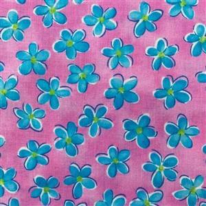 Whimsy Daisical in Pretty Pink Fabric 0.5m