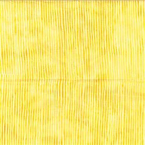 Bali Stripe Daffodil Fabric 0.5m