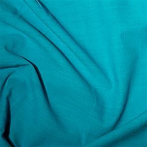 Linen-Look Cotton in Turquoise Fabric 0.5m