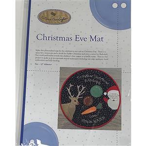 Victoria Carrington's Christmas Eve Mat Instructions