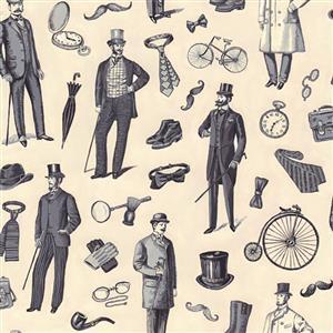 Victorian Vintage Men 0.5m