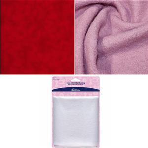 Rose Wool Children's Coat Bundle: Fabric (2.5m) & Interfacing. Save £4.50