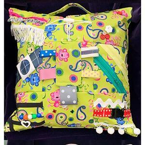 Allison Maryon's Lime Fidget Cushion Kit