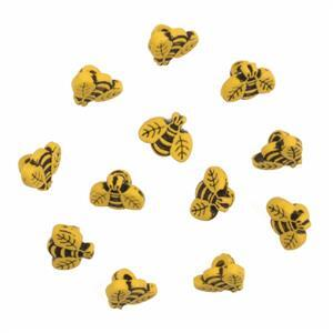 Bees Buttons Pack of 12