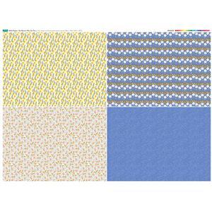 Hello Poppet Fat Quarter Set 2: 140cm x 107cm