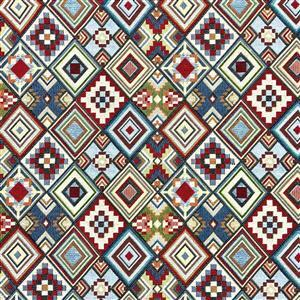 New World Tapestry Little Aztec Fabric 0.5m