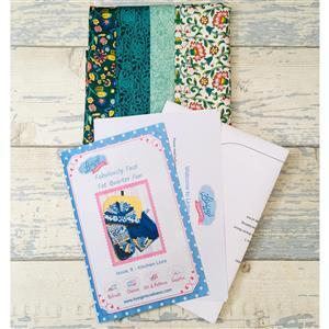 Living in Loveliness Fabulously Fast Fat Quarter Fun - Issue 9 - Kitchen Love - Liberty Green