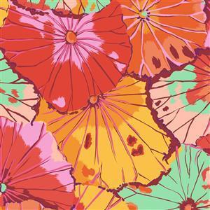 Kaffe Fassett Classics Equator Hot Petunias Fabric 0.5m