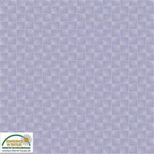 Stof Quilters Co-Ordinates Checkers Mauve Fabric 0.5m