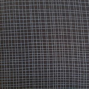 Crossroads Extra Wide Backing Fabric in Black 0.5m (280cm Width)
