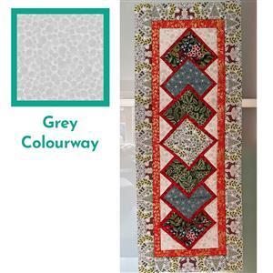 Lewis & Irene Noel in Grey Table Runner Kit: FREE Instructions & Fabric (4m)