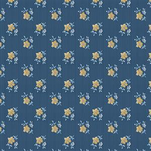 Riley Blake Delightful Heather Navy Fabric 0.5m