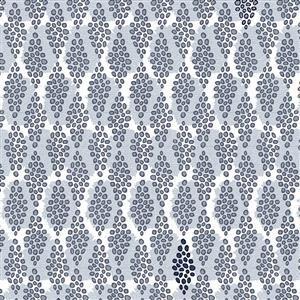Navy Dot Diamonds Fabric 0.5m