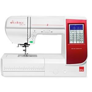 Elna eXcellence 580+ Electronic Sewing Machine FREE Closed Toe Walking Foot SAVE £54