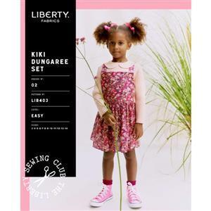 Liberty Child's Kiki Dungaree Set Pattern Child Sizes 3-14