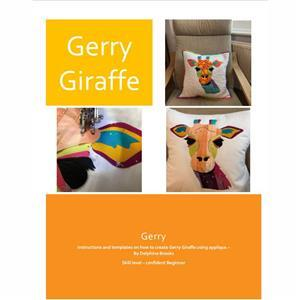 Delphine Brooks Gerry Giraffe Applique Cushion Instructions