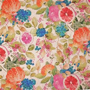 Fruitful Natural Fabric 0.5m