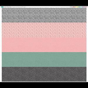 Vintage Colours Fabric Panel (140cm x 124cm)