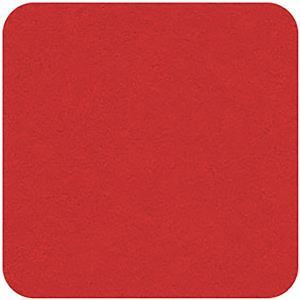 Felt Square in Red 22.8x22.8cm (9x9
