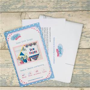 Living in Loveliness Sewn with Scraps Issue 5 Banner and Bunting Pattern