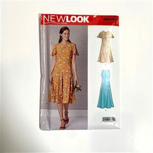 New Look Misses' Fit & Flared Dress Sewing Pattern - U.S 10-22/Euro. 36-48