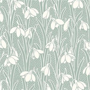 Liberty Hesketh House Collection in Green Hesketh Fabric 0.5m