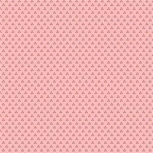 Poppie Cotton Chick-A-Doodle-Doo Chicken Spots on Pink Fabric 0.5m UK exclusive