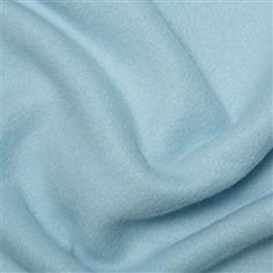 Pale Blue Plain Antipil Fleece Fabric 0.5m