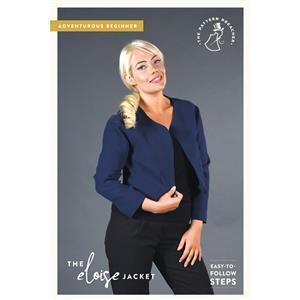 The Pattern Preacher Eloise Jacket Pattern. Size 8-20