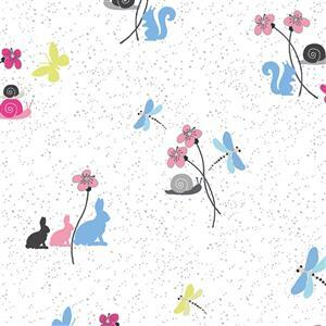 Hollies Flowers Fabric 0.5m