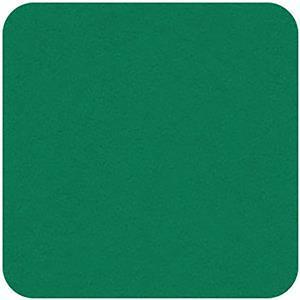 Felt Square in Viridian 22.8x22.8cm (9x9
