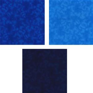 Blue Mixer Fabric Bundle (1.5m)