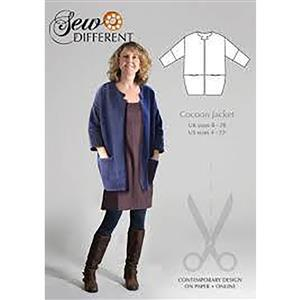 Sew Different Cocoon Jacket Pattern: Size 8-26