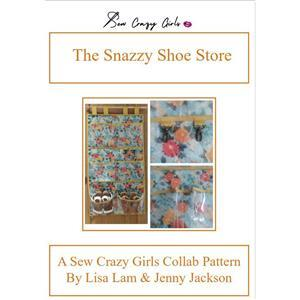 Sew Crazy Girls Snazzy Shoe Store Pattern