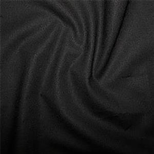 Black 100% Cotton 0.5m
