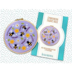 Oh Sew Bootiful Bees & Wildflowers Fabric Pack