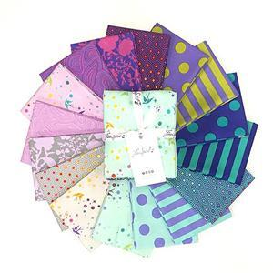 Tula Pink Peacock FQ Pack of 16 Pieces