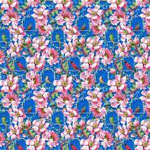 Odile Bailloeul Jardin De La Reine The Queen's Musician on Royal Fabric 0.5m